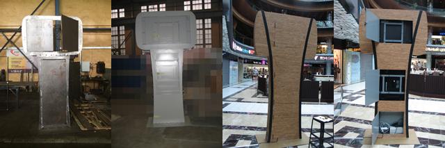 Производство рекламных стендов для установки в торговых комплексах