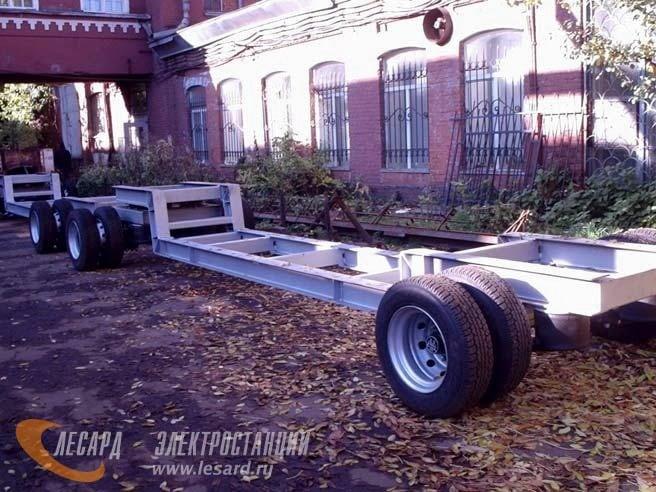Передвижные генераторы | Контейнеры. Электростанции ...: http://www.lesard.ru/catalog/chassis/