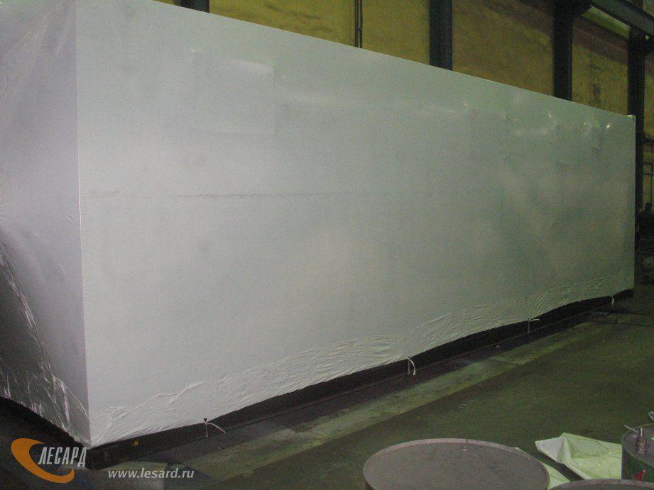 Пакетирование контейнеров под дизель-генераторы