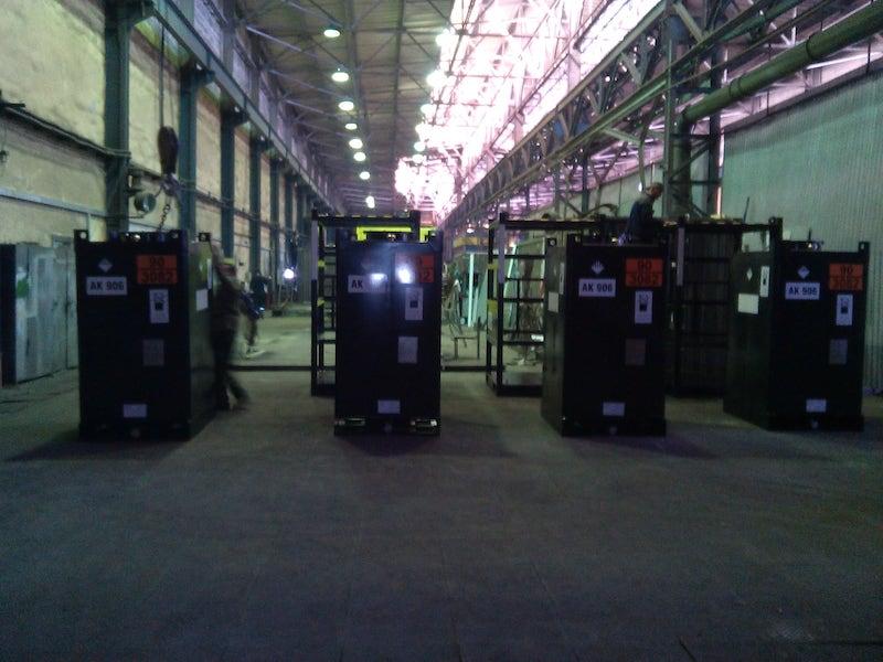 Контейнеры для сбора и транспортировки отработанного масла