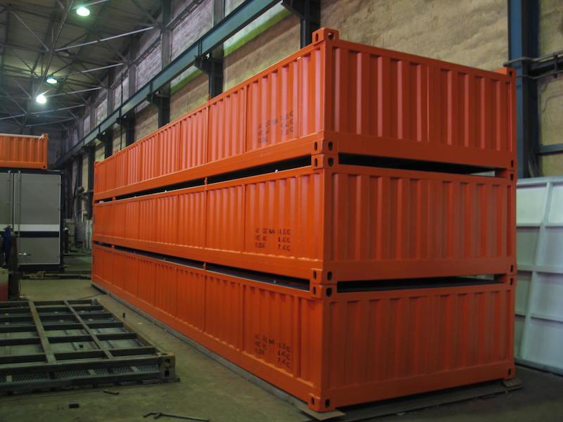 Контейнеры для транспортировки скважинного оборудования