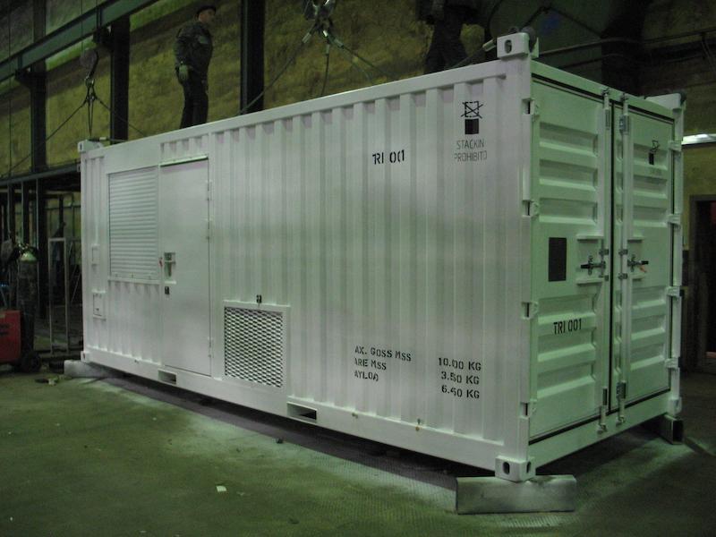 Механическая мастерская - 20-футовые оффшорные контейнеры